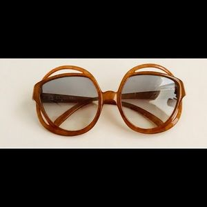 New Vintage Christian Dior Amber Sunglasses